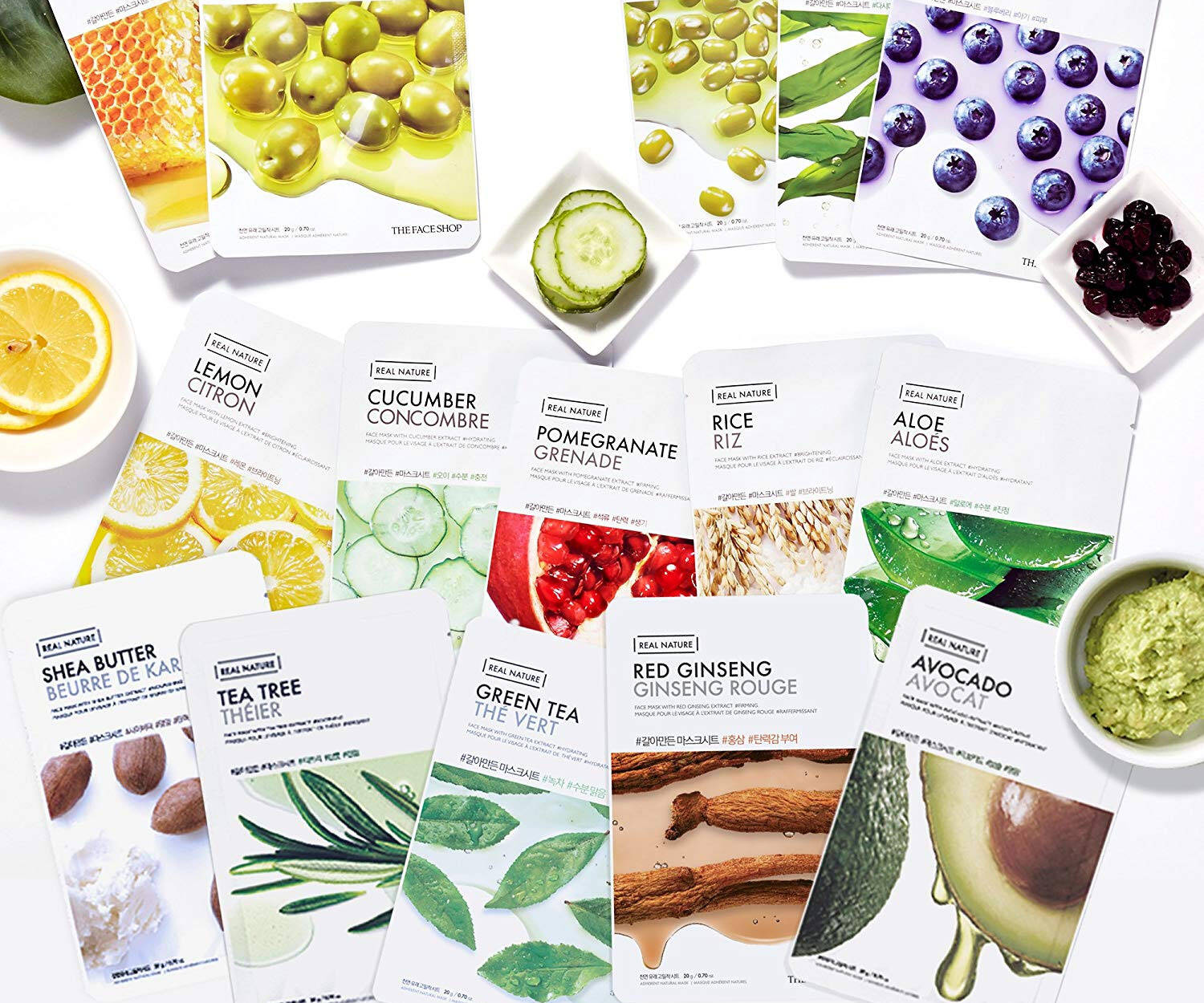 Real Nature Nourishing Face Masks - coolthings.us