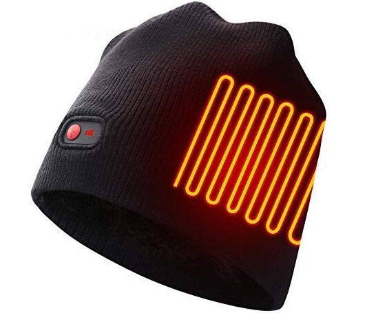 Rechargeable Heated Beanie - http://coolthings.us
