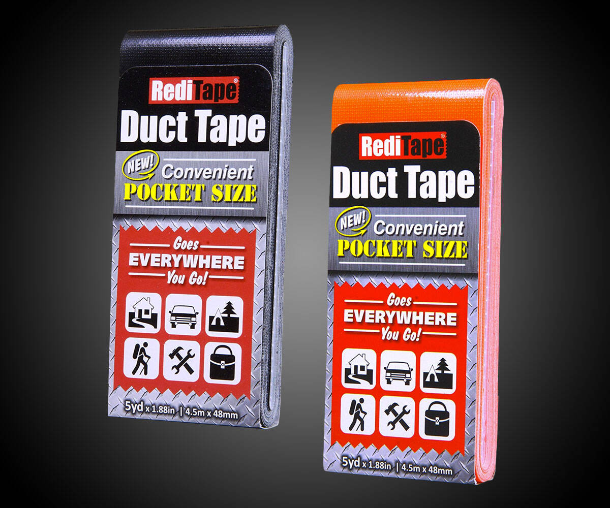RediTape Pocket Duct Tape - http://coolthings.us