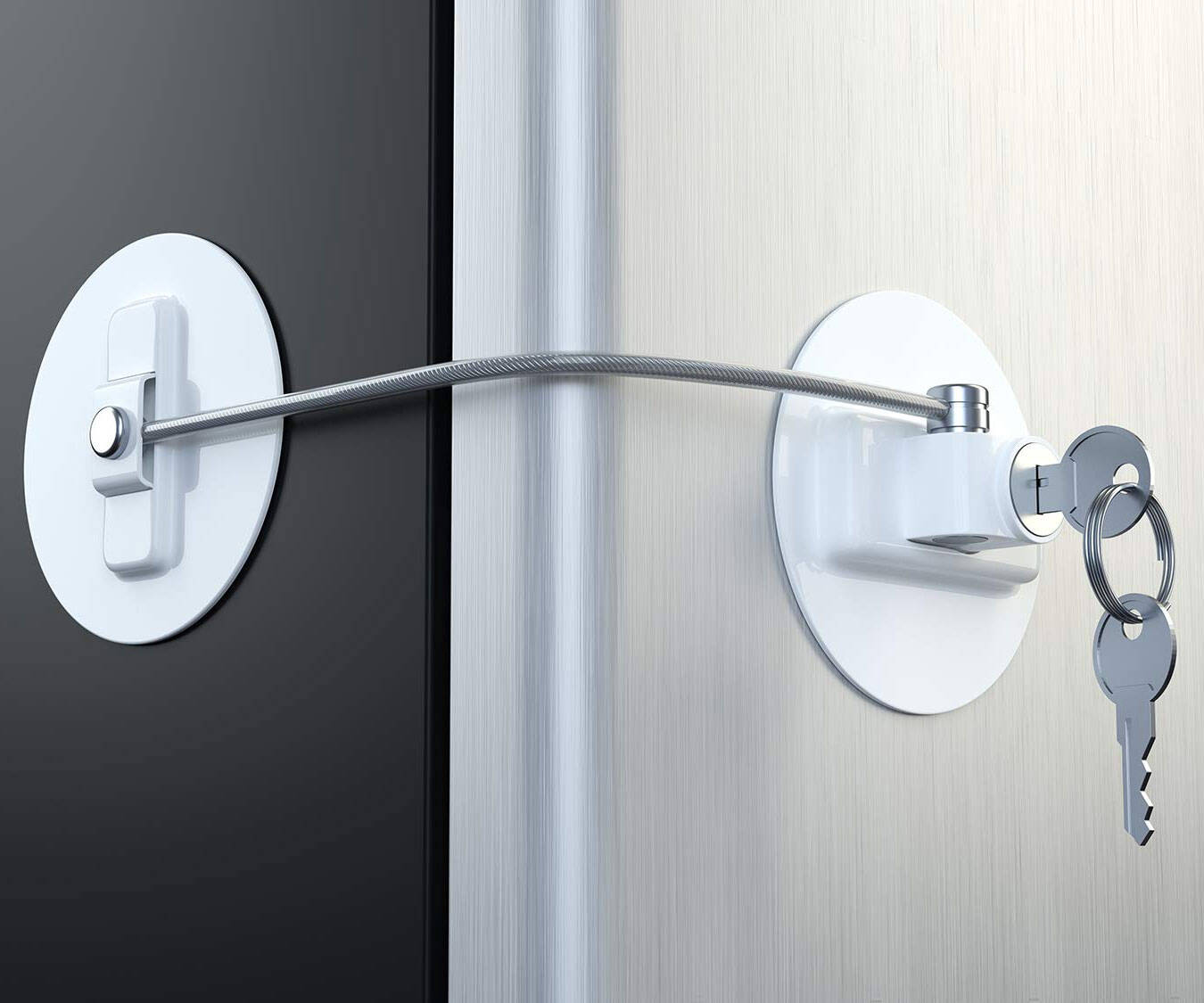 Refrigerator Lock - http://coolthings.us