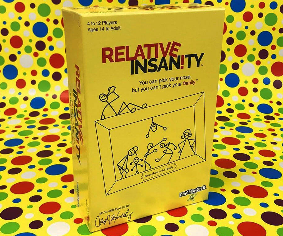 Relative Insanity Party Game - http://coolthings.us
