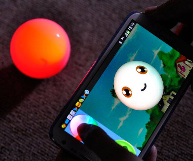 Remote Control Robotic Ball - http://coolthings.us