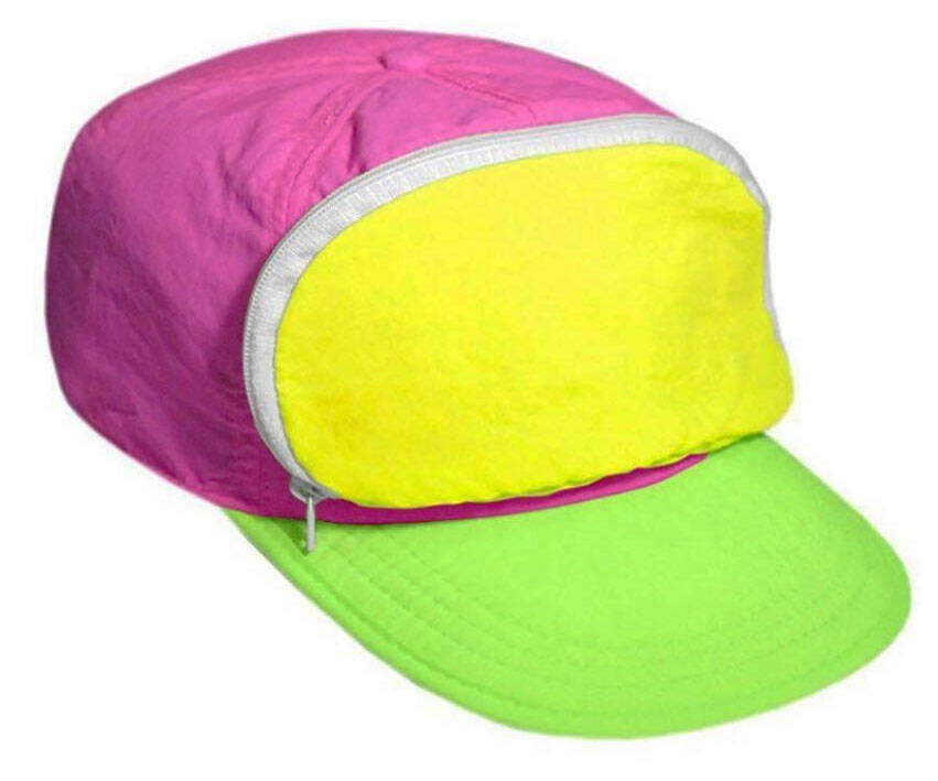 Retro Fanny Pack Hats - http://coolthings.us