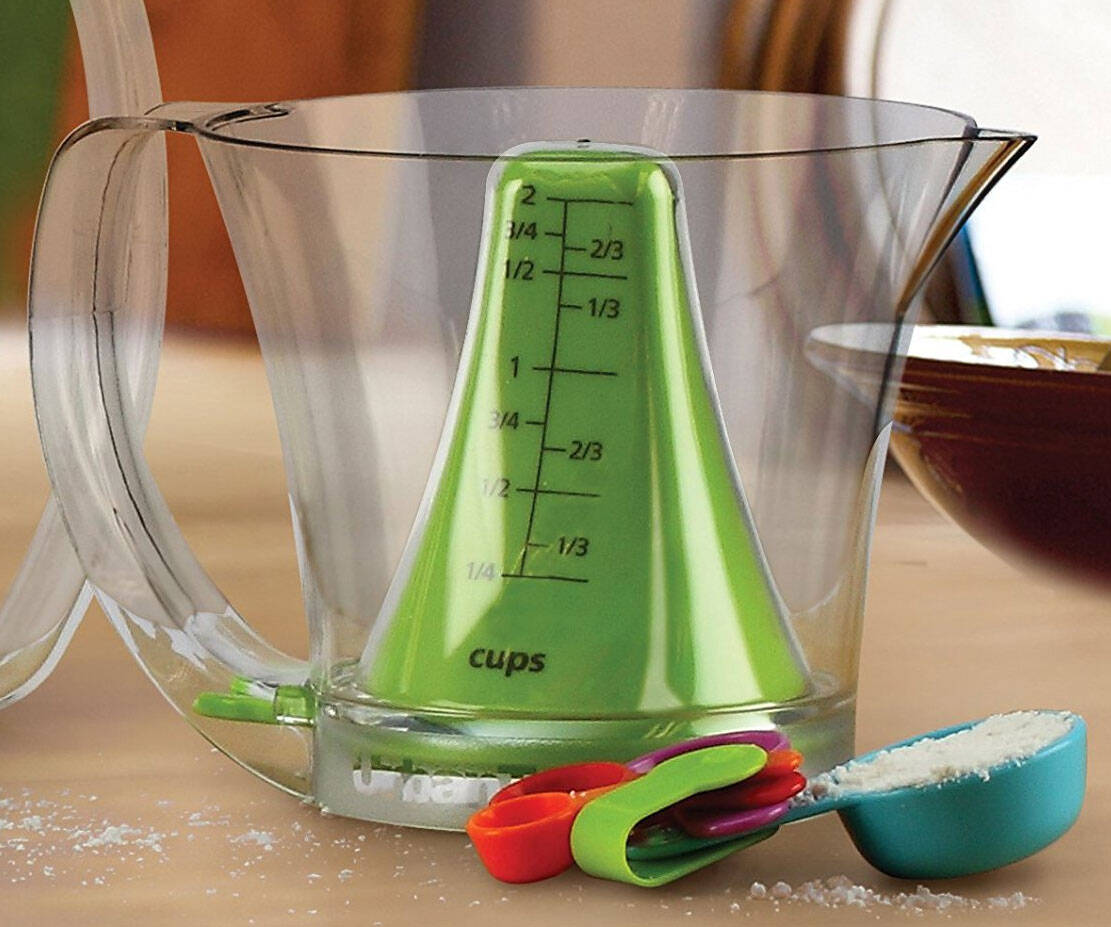 Reversible Measuring Cup & Spoon Set - http://coolthings.us