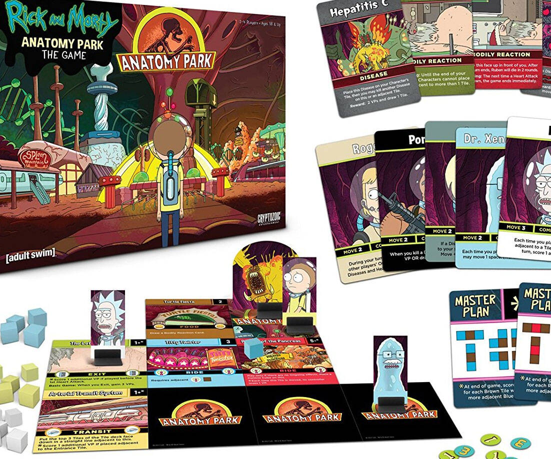 Rick And Morty Anatomy Park Game - http://coolthings.us