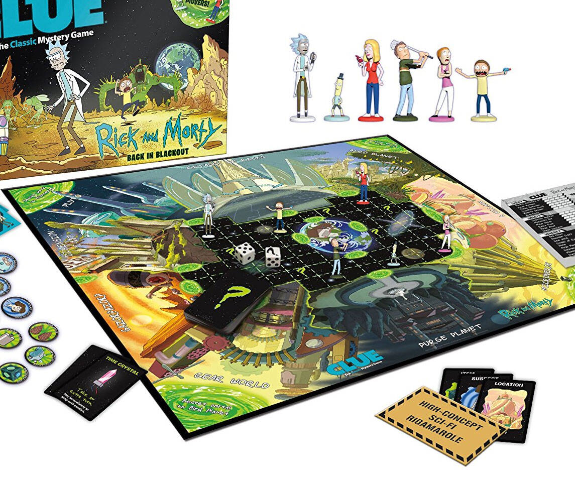 Rick And Morty Clue - http://coolthings.us