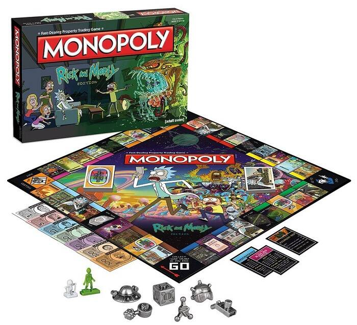 Rick and Morty Monopoly - http://coolthings.us