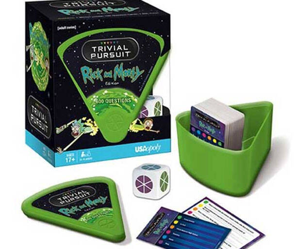 Rick And Morty Trivial Pursuit - http://coolthings.us