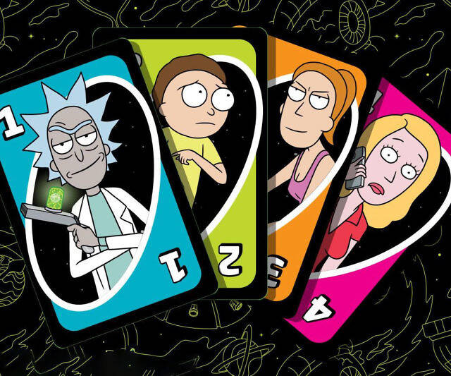Rick And Morty Uno - coolthings.us