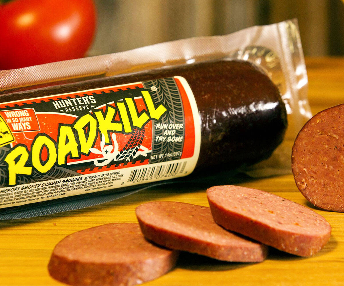 Roadkill Sausage - http://coolthings.us