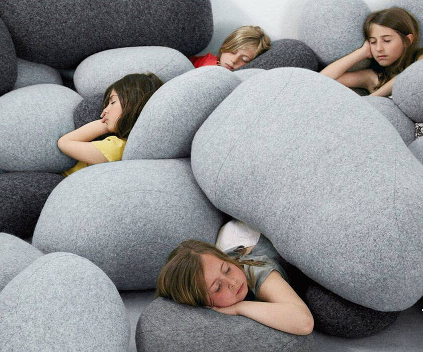 Rock Pillows - http://coolthings.us