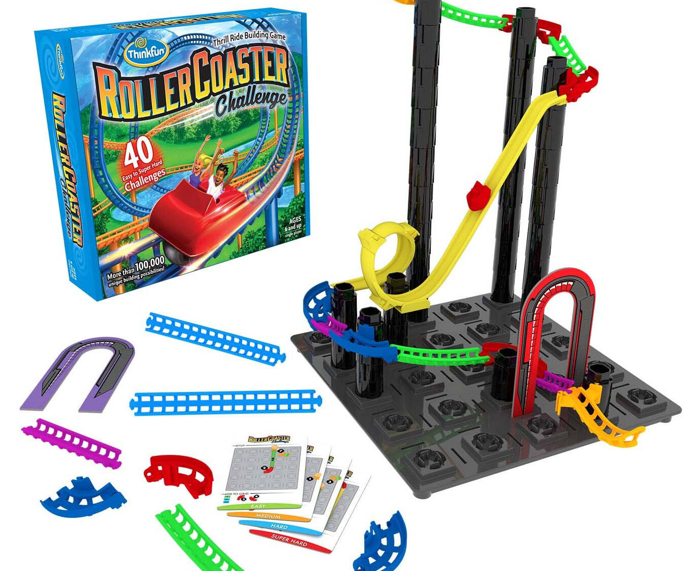 Roller Coaster Logic & Building Game - http://coolthings.us
