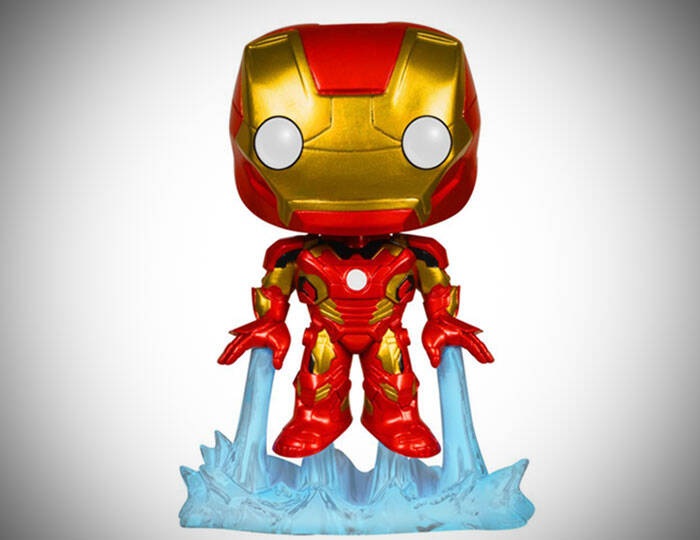 Age Of Ultron Iron Man Bobble Head Action Figure - http://coolthings.us