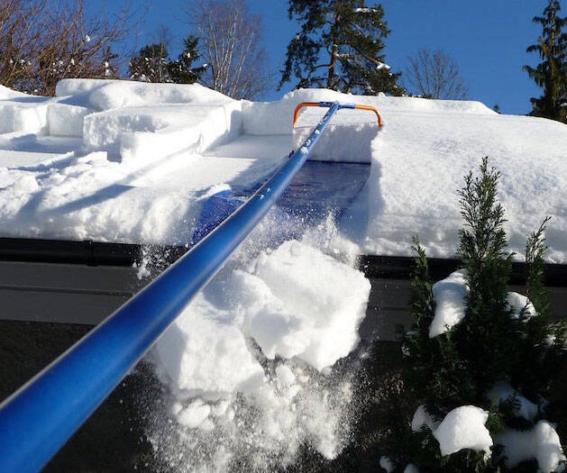 Roof Snow Removal System - coolthings.us
