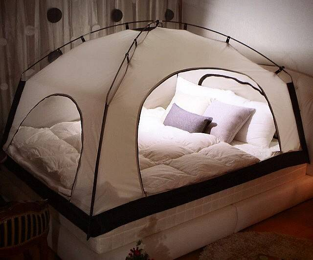 Room In A Room Bed Tent - http://coolthings.us