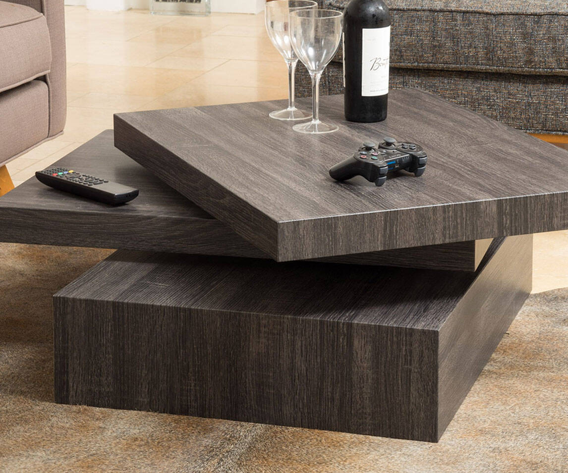 Rotating Coffee Table - http://coolthings.us