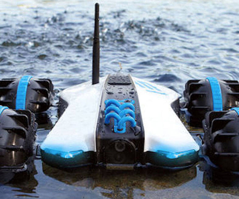 Rover Land & Sea Amphibious R/C Car - coolthings.us