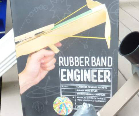 Rubber Band Engineer Book - http://coolthings.us
