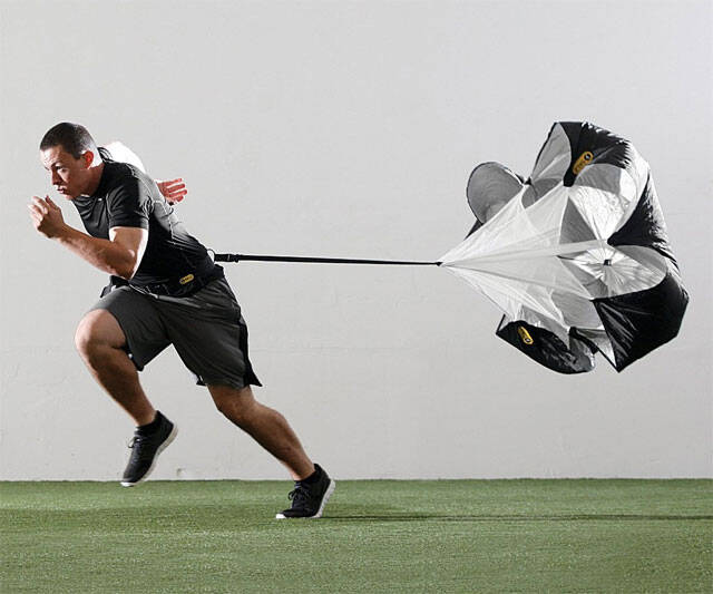 Speed Chute - Resistance Training Parachute - http://coolthings.us