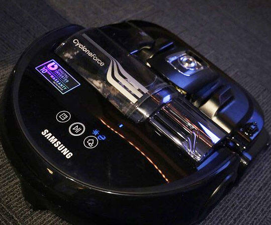 Samsung Smart Robot Vacuum - http://coolthings.us