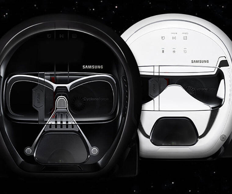 Star Wars Powerbot Robot Vacuum - http://coolthings.us