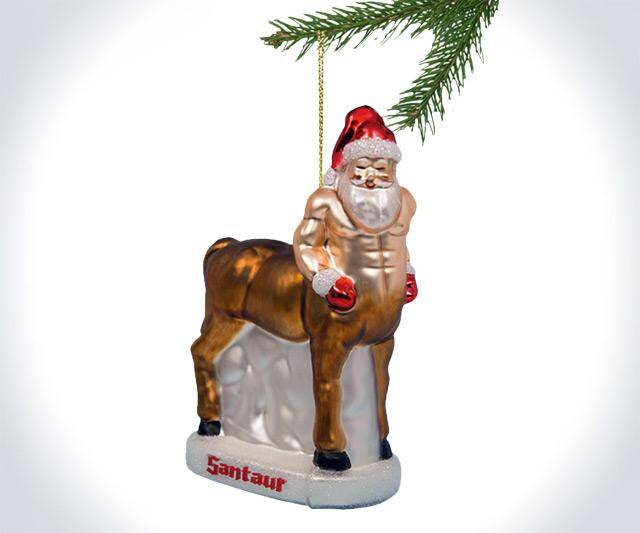 Santaur Ornament - http://coolthings.us