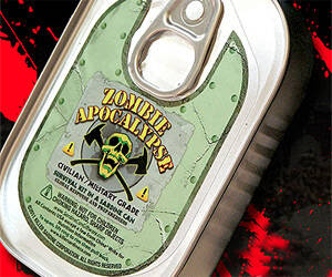 Sardine Can o' Zombie Apocalypse Survival - http://coolthings.us