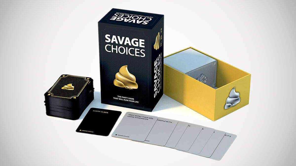 Savage Choices Party Game - http://coolthings.us