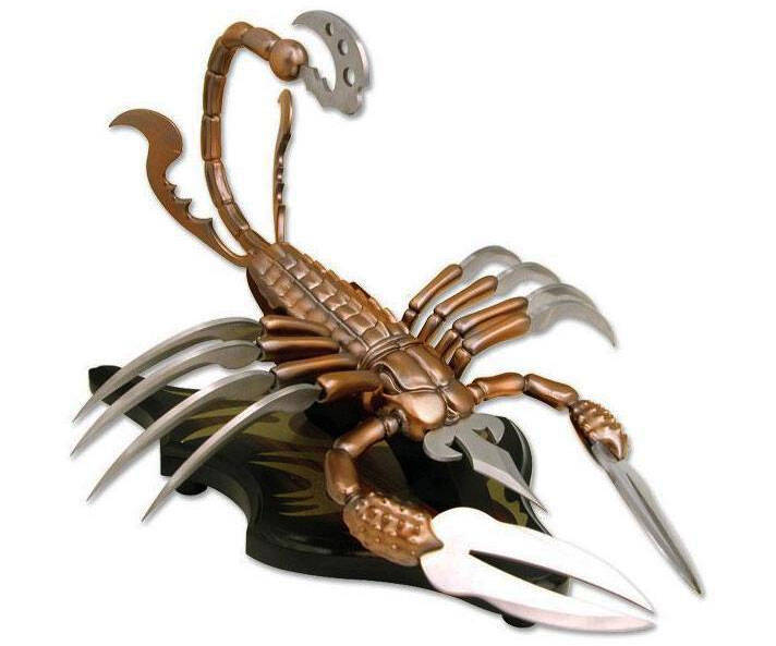 Scorpion Fantasy Knife - coolthings.us
