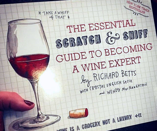 Scratch And Sniff Wine Book - http://coolthings.us