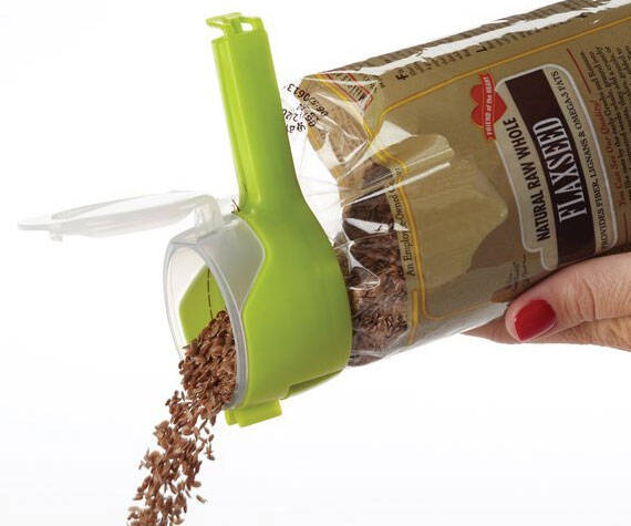 Seal And Pour Bag Clip - http://coolthings.us