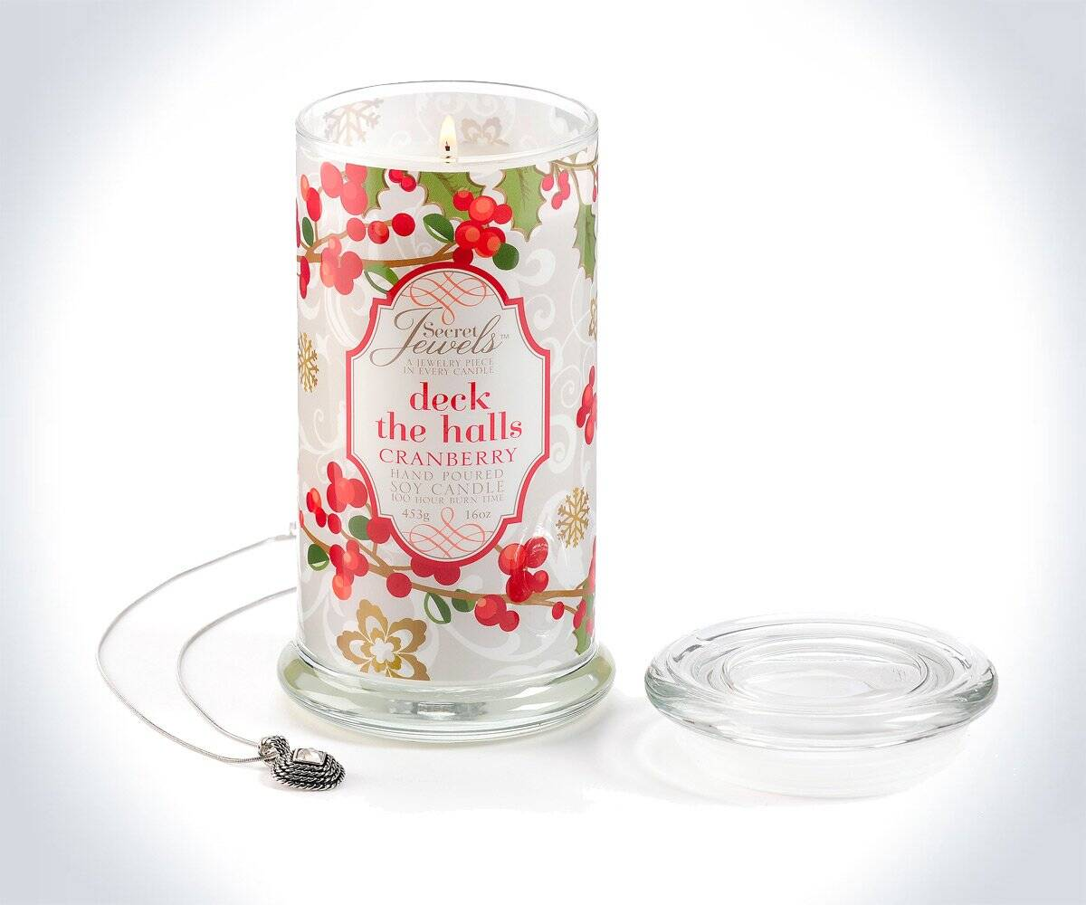 Secret Jewels Hidden Jewelry Candles - http://coolthings.us