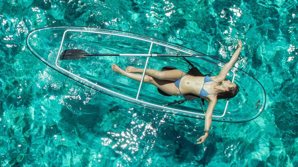 See Through Bottom Canoe - http://coolthings.us