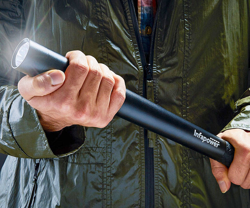 Self Defense Security Flashlight - http://coolthings.us