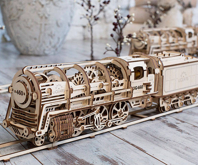 Self-Propelled Mechanical Models - http://coolthings.us