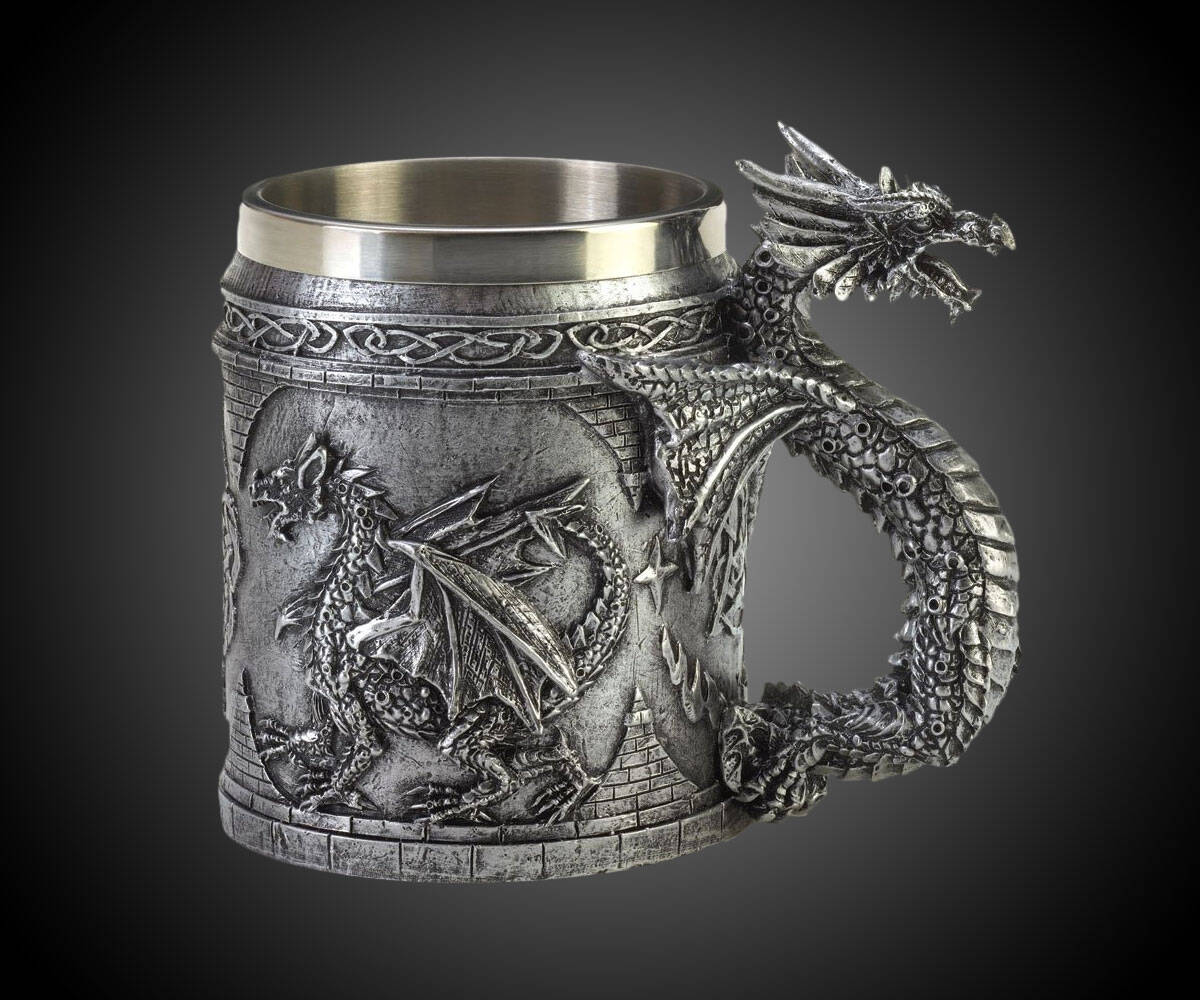 Serpentine Dragon Mug - http://coolthings.us