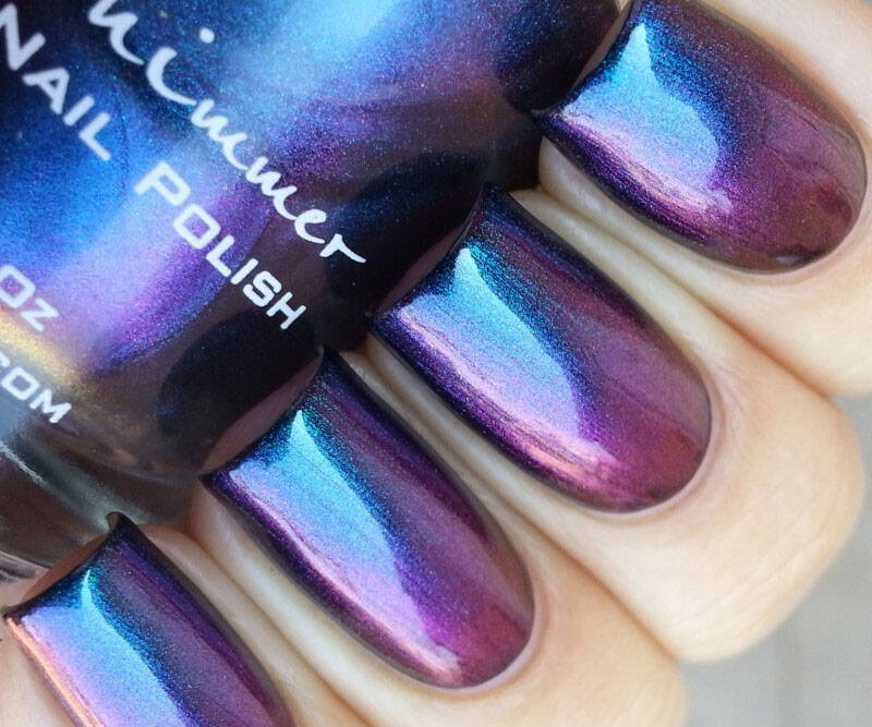 Shade Shifter Multichrome Nail Polish - http://coolthings.us