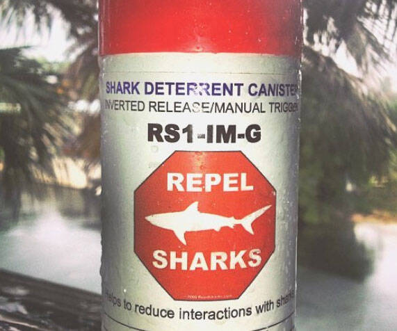 Shark Deterrent Spray