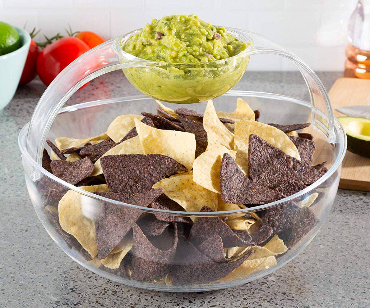 Shatter Resistant Chip & Dip Bowl - coolthings.us