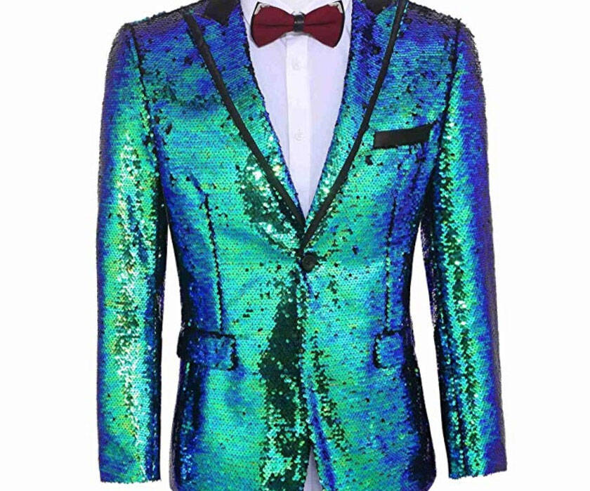 Shiny Sequins Suit Jacket - http://coolthings.us