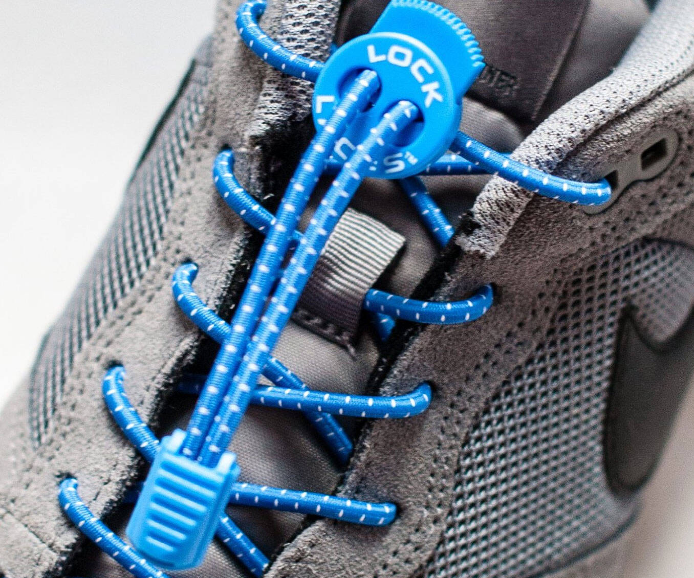 Shoelace Fastening System - http://coolthings.us