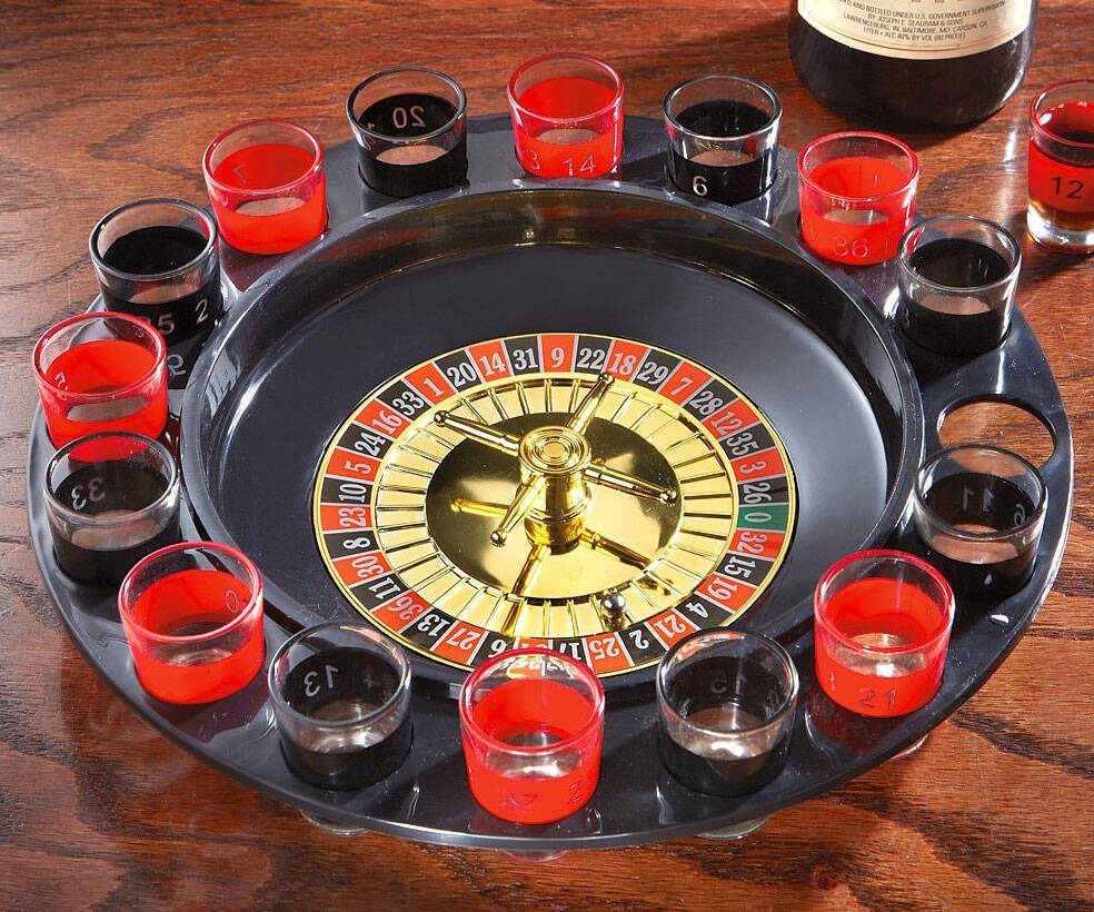 Shot Glass Roulette - coolthings.us