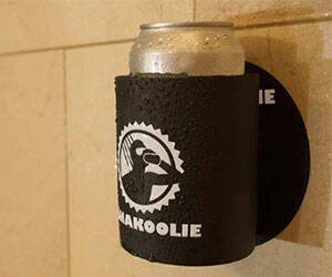 Shower Beer Koozie - http://coolthings.us
