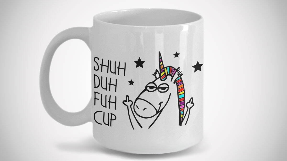 Shuh Duh Fuh Cup - http://coolthings.us