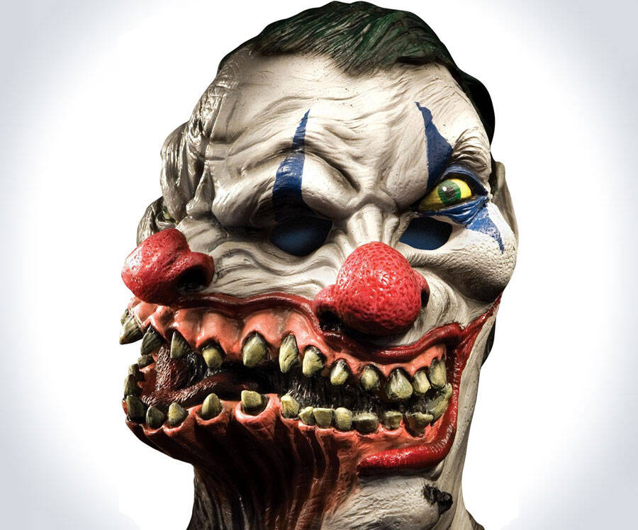 Siamese Clown Mask - http://coolthings.us