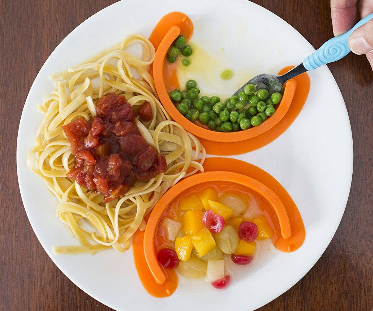 Food Separating Plate Dividers - http://coolthings.us