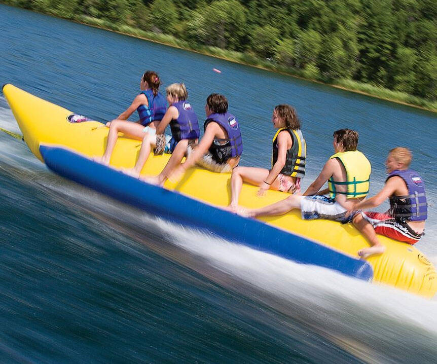 Six Person Towable Tube - http://coolthings.us