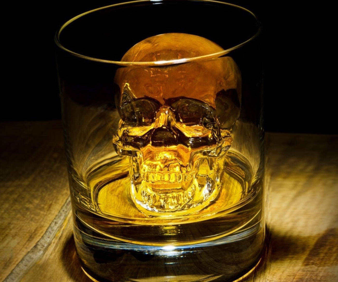 Skull Silicone Ice Cube Tray - http://coolthings.us