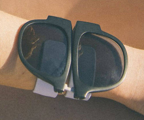 Slap Band Sunglasses - http://coolthings.us