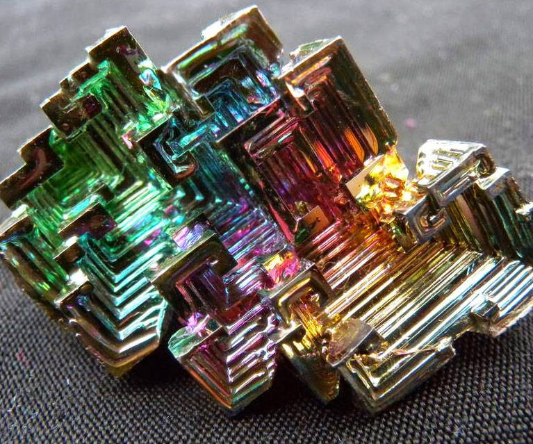 Bismuth Crystals - http://coolthings.us